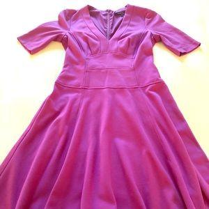 Nanette Lepore purple dress